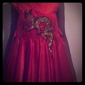 Chinese New Year's Dress